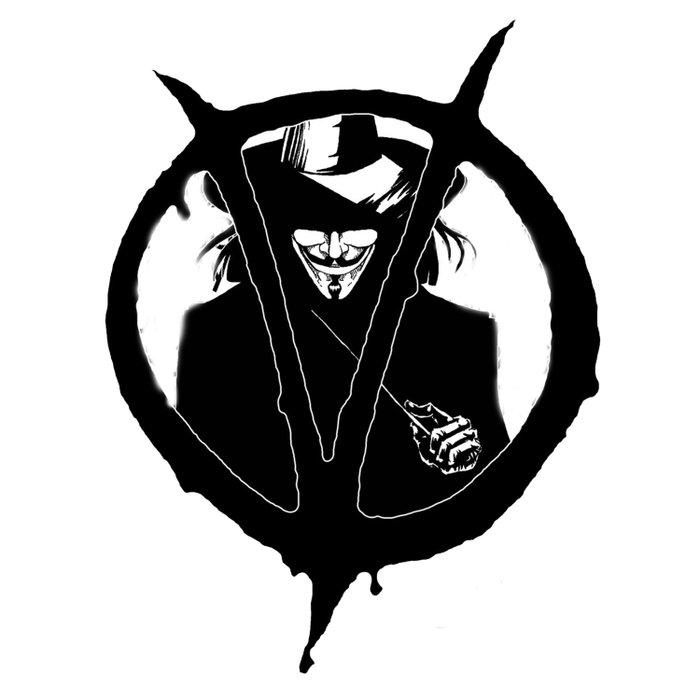 V for Vendetta3 Duvet Cover