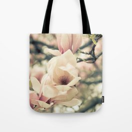 Magnolia Tree Bloom.  Flower Photography Tote Bag