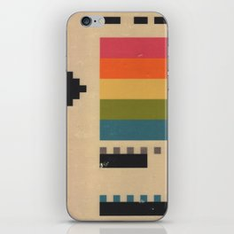 VHS Pixels iPhone Skin