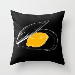 mussel for friends Throw Pillow