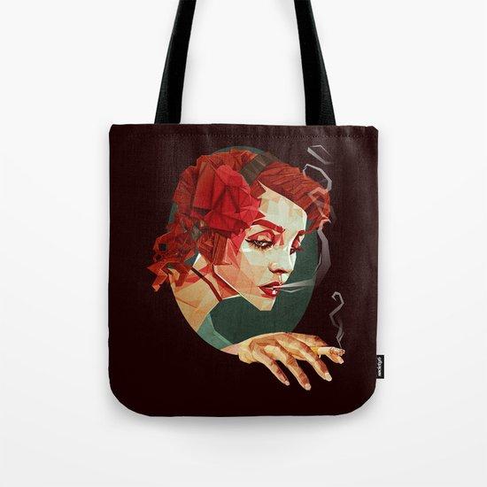"""""""Smoking Princess"""" Tote Bag"""