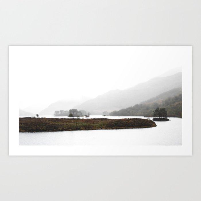 The pull of the land scene II Art Print