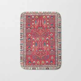 Bakhtiari Central Persian Garden Print Bath Mat