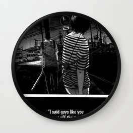 now thats just rude Wall Clock