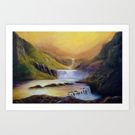 Summerland Art Print