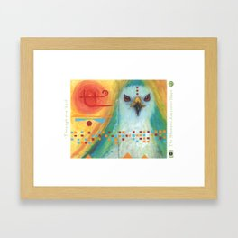 Through the Veil Framed Art Print