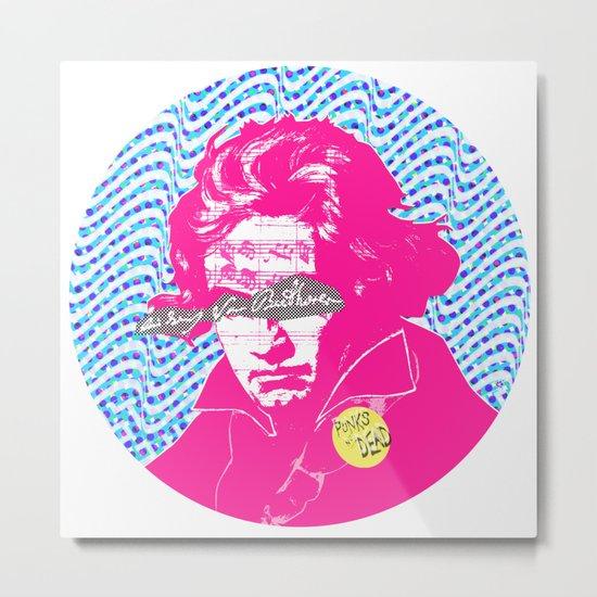 Ludwig van Beethoven 18 Metal Print