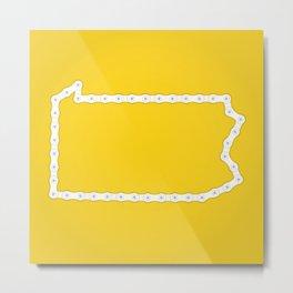 Pennsylvania: United Chains of America Metal Print