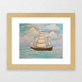 Coming Home (USA) Framed Art Print