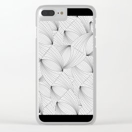 Simplicity 1 Clear iPhone Case