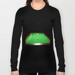 Pool Table Long Sleeve T-shirt