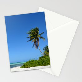 Crystal Clear Day on the Beach Stationery Cards