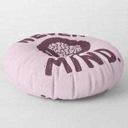 NEVER M/ND Floor Pillow