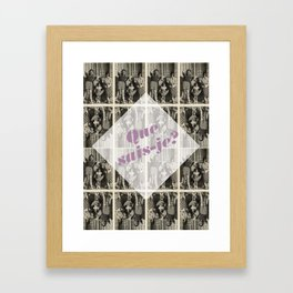 Montaigne 2 Framed Art Print