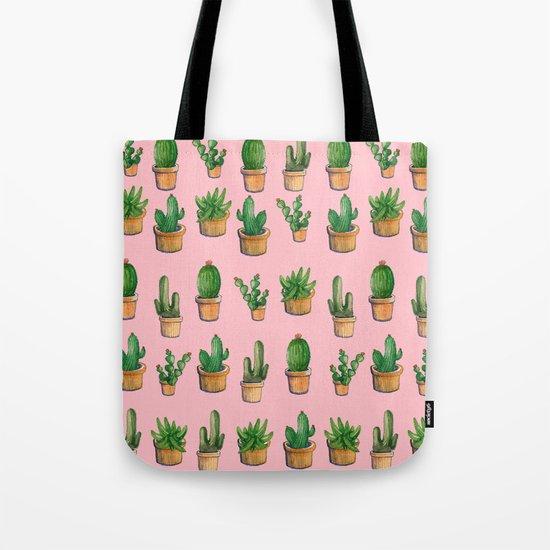cactus pink, new cactus! Tote Bag