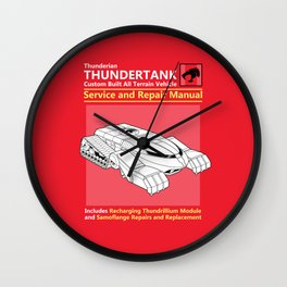 Thundertank Service and Repair Manual Wall Clock