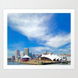 Colors of Baltimore Art Print