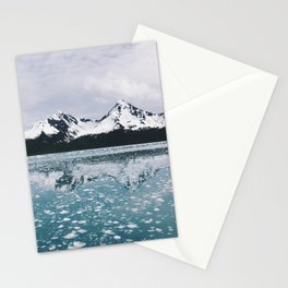 Icy Kenai reflection Stationery Cards