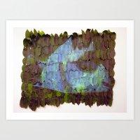 Leaf Blanket Art Print