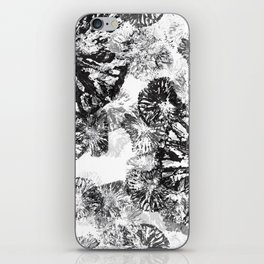 Monkey Stamps Turned Into Flowers iPhone Skin