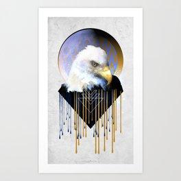 Wise Eagle Art Print
