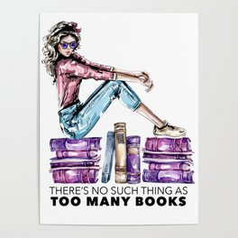 Big Book Nerds Poster