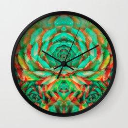 Green fairy Wall Clock
