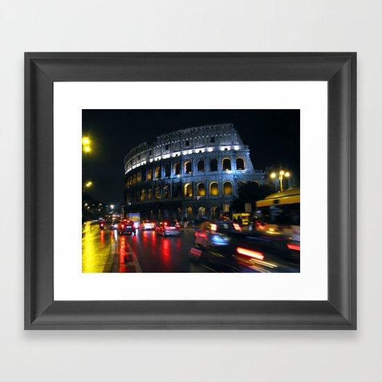 Colosseo: Rome Framed Art Print