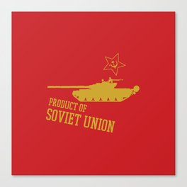 T-72 (Product of SOVIET UNION) Canvas Print