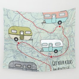 Get Your Kicks Wall Tapestry