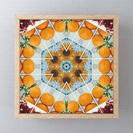 sunflower squeeze Framed Mini Art Print