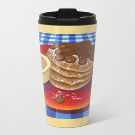 Pancakes Week 4 Metal Travel Mug