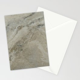 Water on marble stone Stationery Cards