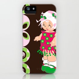 little miss coco iPhone Case