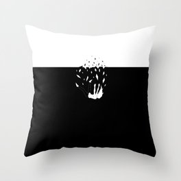 Falling From Reality Throw Pillow