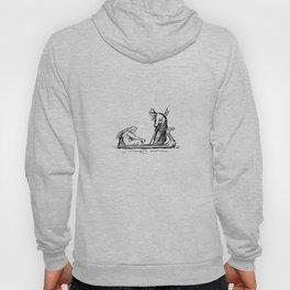 Norse Myth Frigg and Odin Sailing In Fensalir Hoody