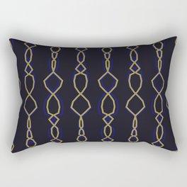Geometric pattern B1 Rectangular Pillow