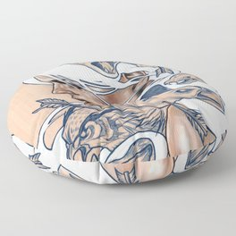 The Hunt Floor Pillow