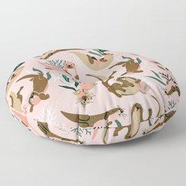 Otter Collection - Blush Palette Floor Pillow
