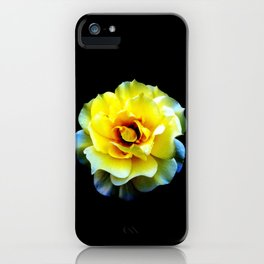 Blossom... (Yellow) iPhone Case