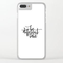 Home Sign Dorm Room Black And White Inspirational Wall Art Women Gift Valentines Day Gift Motivation Clear iPhone Case