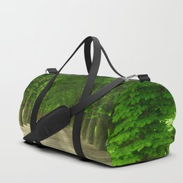 The gardens of the castle of Fontainebleau Duffle Bag