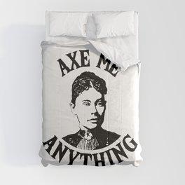 Lizzie Borden - True Crime Joke Comforters