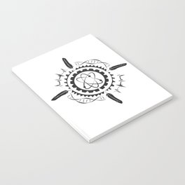 Native Stem Mandala Notebook