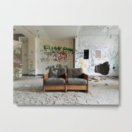 you can sit with us Metal Print