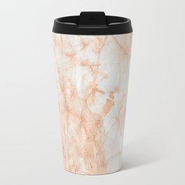 Paper Marble Texture Travel Mug