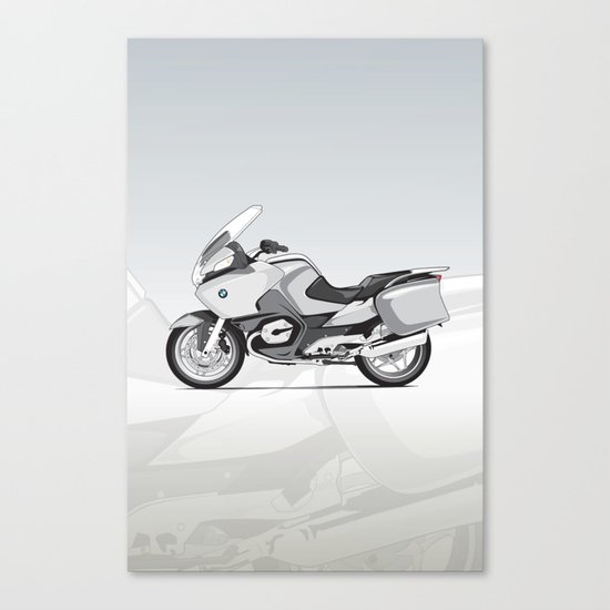 RT-1200 (Dad's Ride) Canvas Print