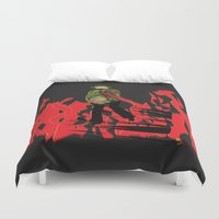 reading Duvet Covers featuring Reading by Soul of the Moon