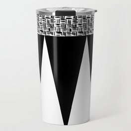 Weave Design Travel Mug