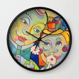 Fools In Love Wall Clock